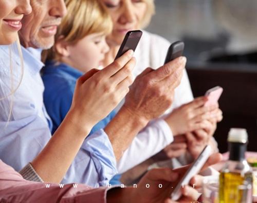 smartphone,اعتیاد به بررسی موبایل