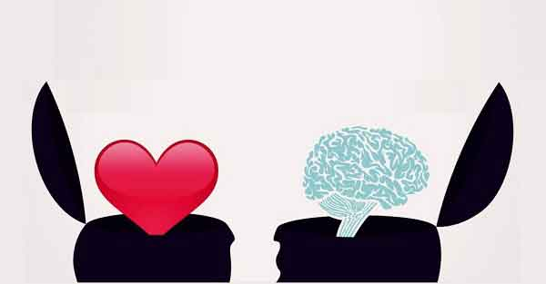 think with mind or heart