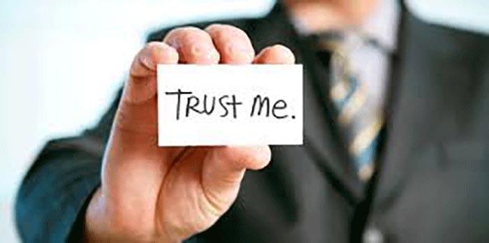 trust-meمتقاعد کردن دیگران