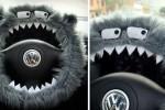 نقاشی های دیدنی روی بدنه ماشین