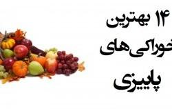 بهترین مواد غذایی فصل پاییز