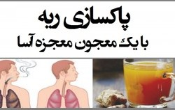 پاکسازی ریه با معجون گیاهان دارویی و طب سنتی