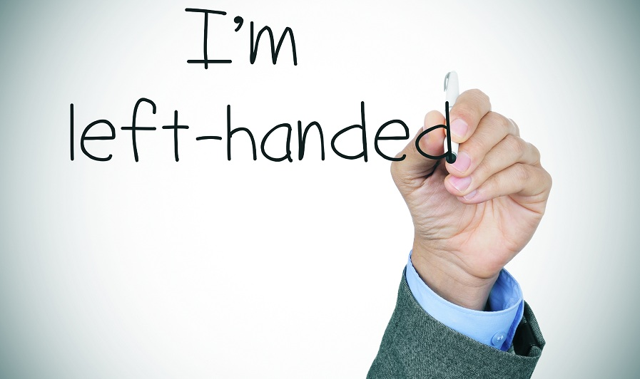 left-handed