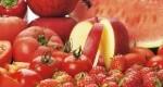 خواص مواد غذایی قرمز رنگ
