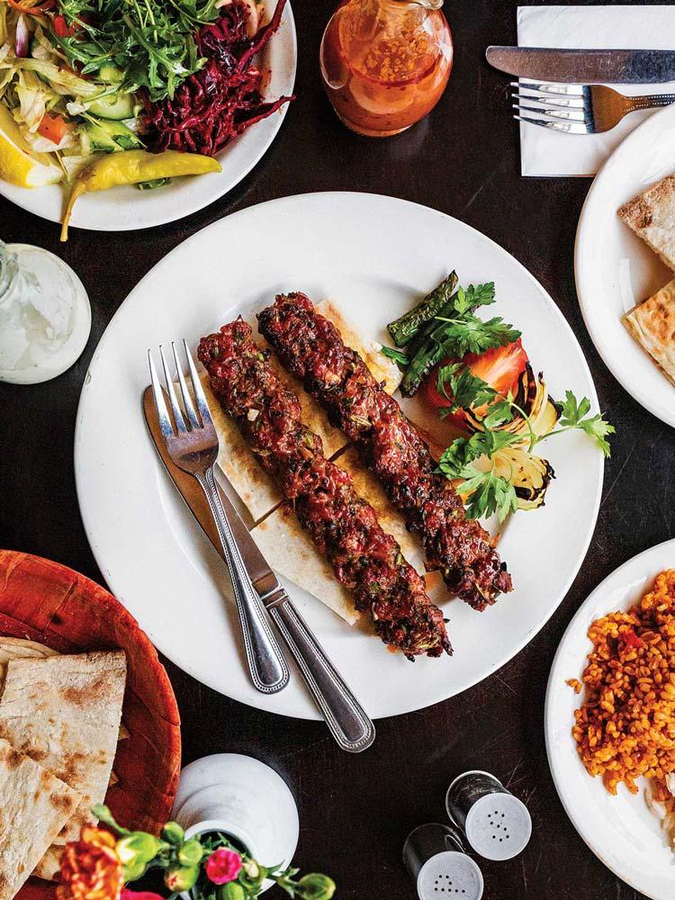 طرز تهیه کباب ترکی با ادویه