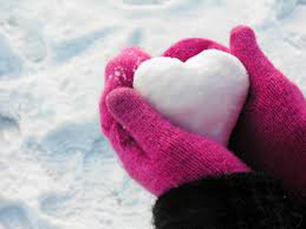 اس ام اس زمستانی برفی winter-love