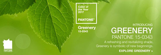 Greenery رنگ سال 2017