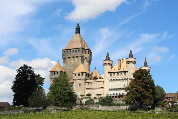 قلعه های تاریخی دیدنی سوئیس,قلعه Vufflens