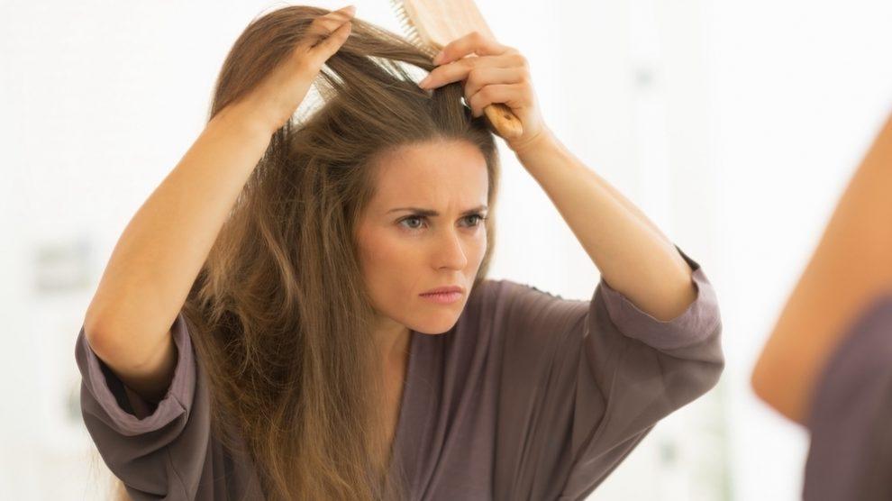 چرا مو میریزد