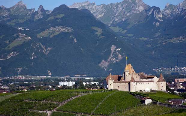 قلعه های تاریخی دیدنی سوئیس,قلعه Aigle