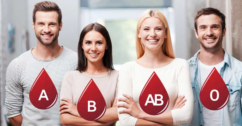 فال ازواج بر اساس گروه خونی