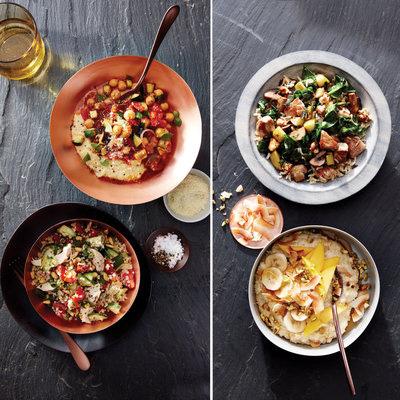 bowel-recipe,کاسه پروتئین حبوبات