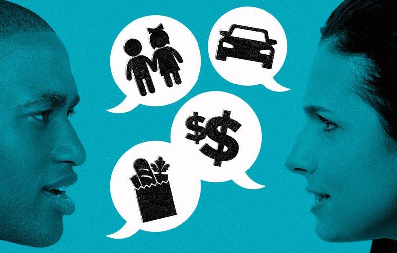 بحث زوج های خوشحال couple-arguments