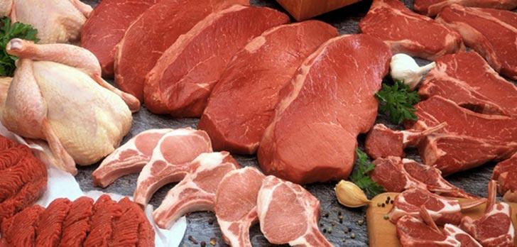 کالری انواع گوشت