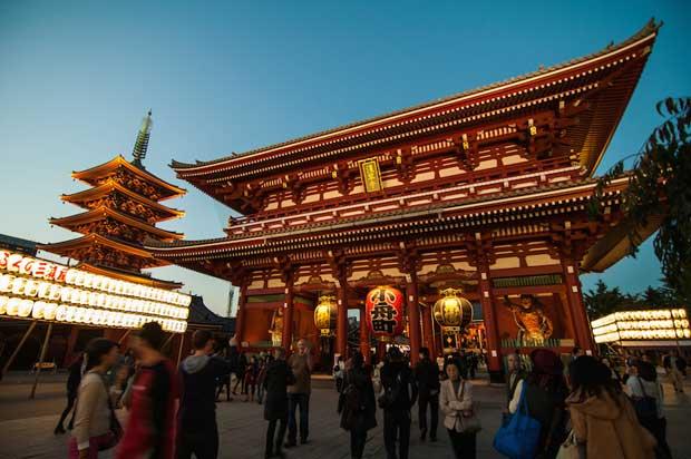 جاهای دیدنی توکیو,معبد سنسوجی-sensoji_temple