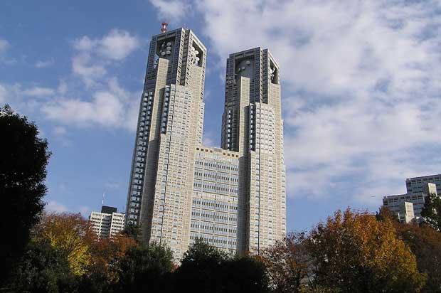 جاهای دیدنی توکیو,ساختمون دولتی توکیو-tokyo_metropolitan_government_building