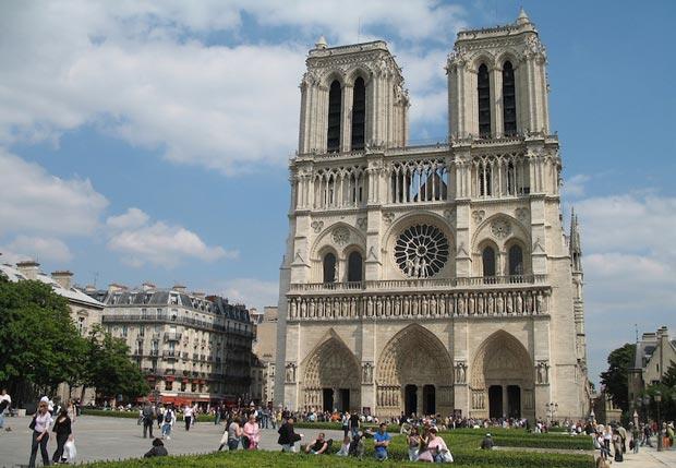 کلیساهای معروف فرانسه,Notre Dame de Paris