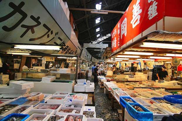 جاهای دیدنی توکیو,بازار Tsukiji