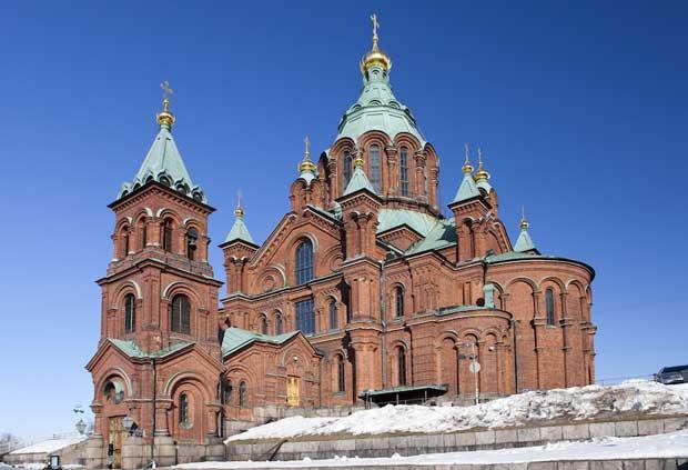 جاهای دیدنی هلسینکی,کلیسای جامع Uspenski