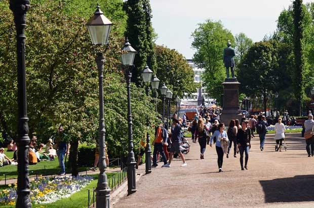 جاهای دیدنی هلسینکی,پارک Esplanadi