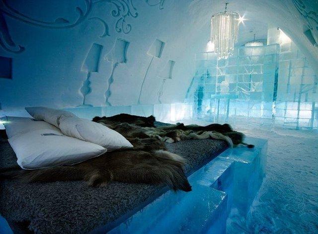 هتل یخی روسیه