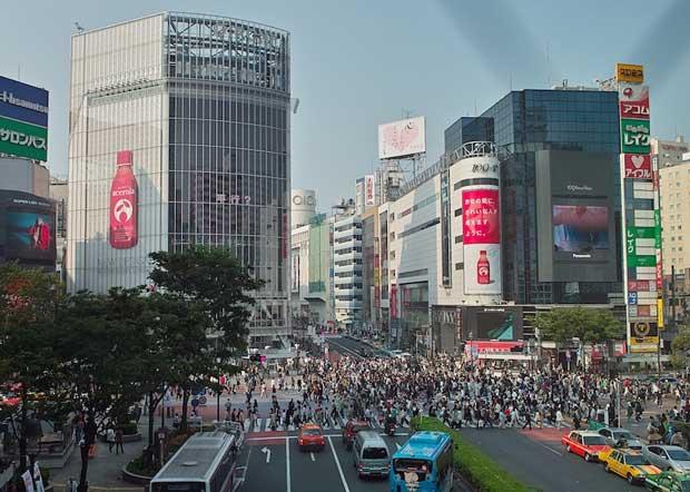 جاهای دیدنی توکیو,محل عابر پیاده شیبویا