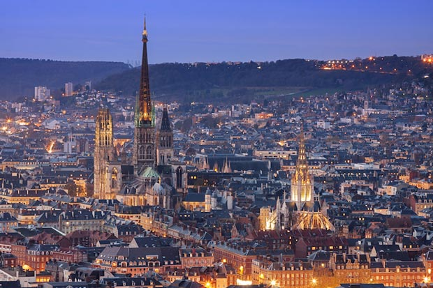کلیساهای معروف فرانسه,کلیسای جامع Rouen