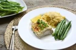 طرز تهیه ماهی خامه ای در خانه