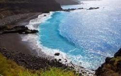 زیباترین ساحل های جهان با رنگ سیاه