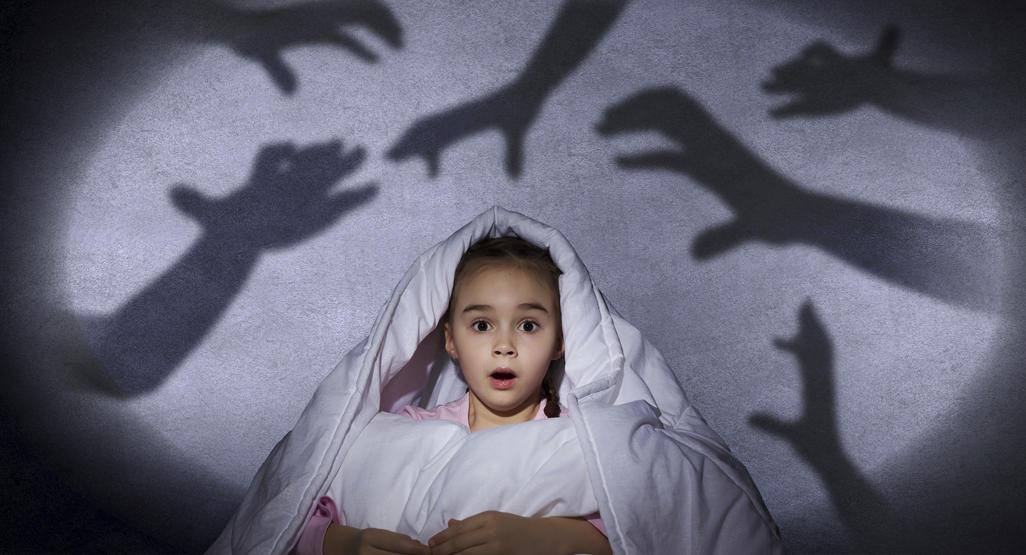 childhood-fears,ترس های کودکان