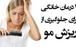 چگونه ریزش مو را متوقف و درمان کنیم؟ درمان گیاهی و سنتی