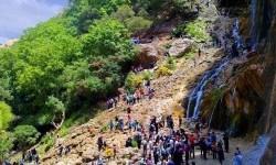 آبشار مارگون استان فارس یکی از زیباترین آبشارهای دنیا
