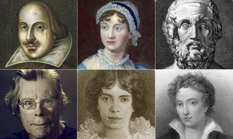 برترین و بزرگ ترین نویسنده های تاریخ جهان