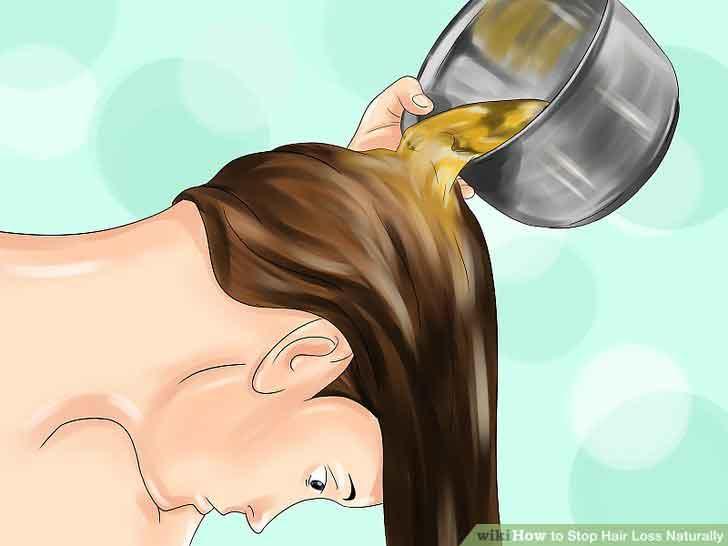 استفاده از چای سبز برای رفع ریزش مو