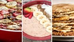 صبحانه های عضله ساز و مقوی برای بدنسازی