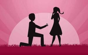 خواستگاری کردن proposing