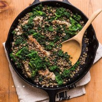 Kale, Sausage & Lentil