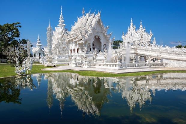 معابد دیدنی تایلند,معبد سفید-white_temple
