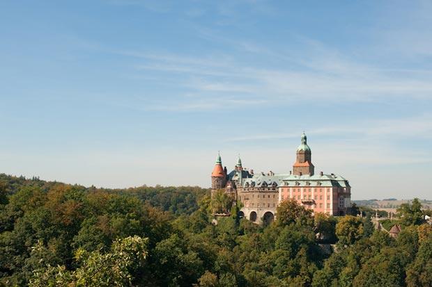 قلعه های لهستان,قلعه Ksiaz