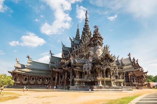 معابد دیدنی تایلند,محراب حقیقت-sanctuary_of_truth