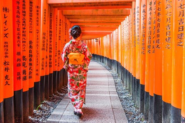 دیدنی های کیوتو ژاپن,زیارتگاه Fushimi Inari