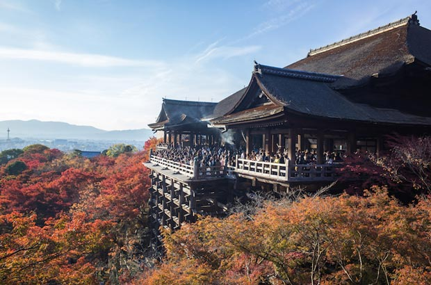 دیدنی های کیوتو ژاپن,Kiyomizu-dera