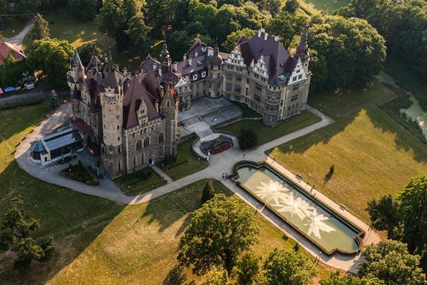 قلعه های لهستان,قلعه Moszna