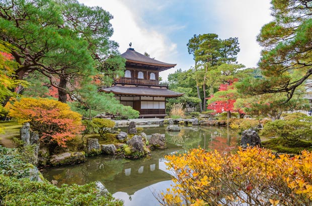 دیدنی های کیوتو ژاپن,معبد Ginkakuji