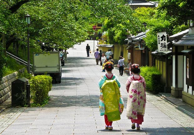 دیدنی های کیوتو ژاپن,منطقه Gion
