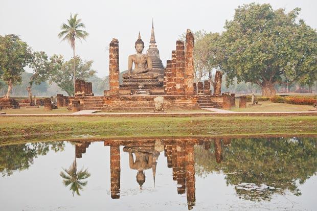 معابد دیدنی تایلند,معبد Wat Mahathat