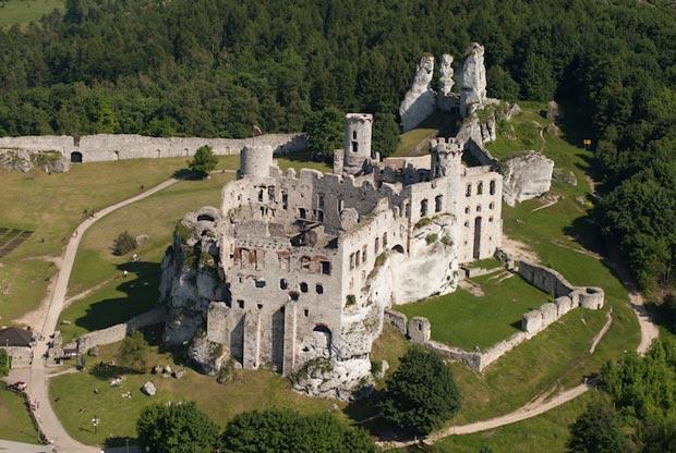 قلعه های لهستان,قلعه Ogrodzieniec