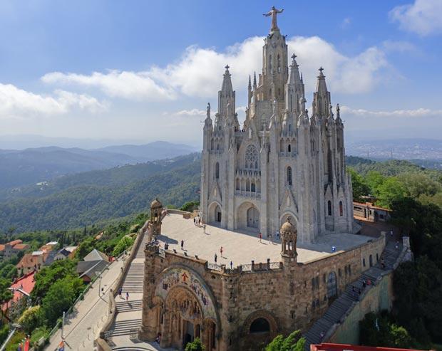 کلیساهای اسپانیا,معبد Expiatori del Sagrat Cor
