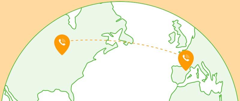 پیش شماره کشورها area-codes