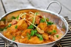 طرز تهیه غذای هندی کرما چیکن